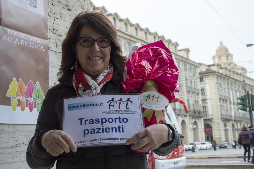 Uova di Pasqua AIL 2016 Torino Piazza Castello