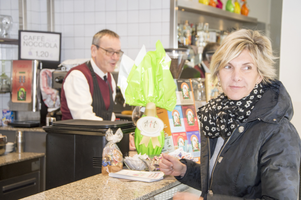 Uova di Pasqua AIL 2016 Torino Idea Caffè