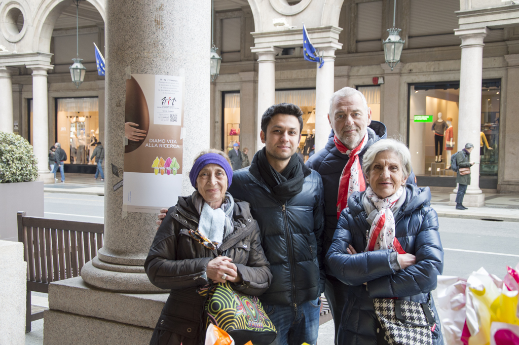 Uova di Pasqua AIL 2016 Torino Via Roma