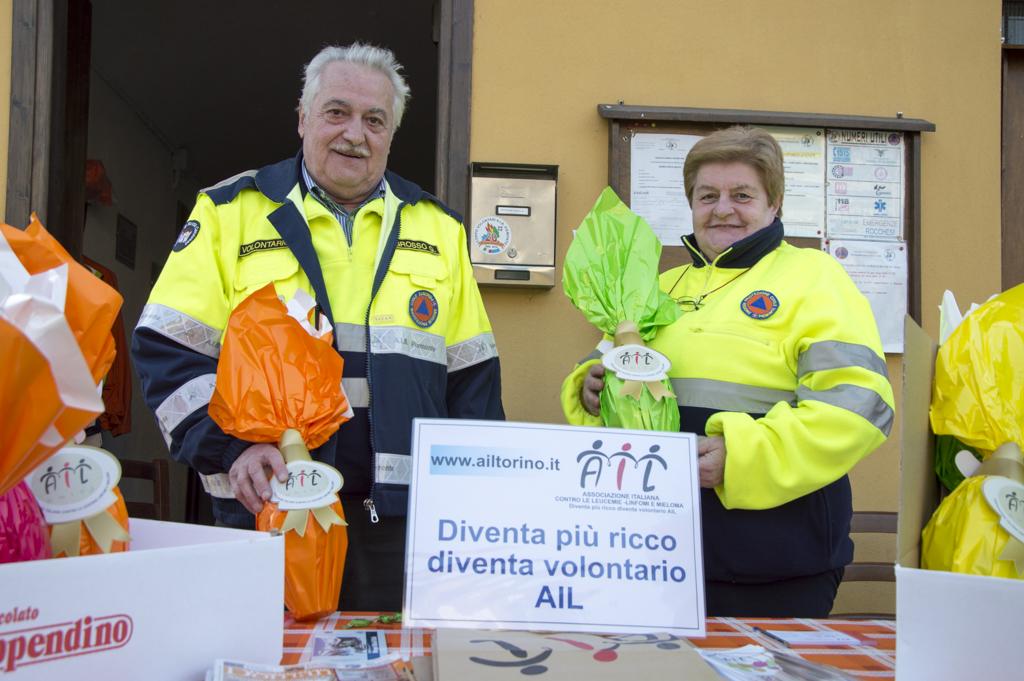Uova di Pasqua AIL 2016 Rocca Canavese