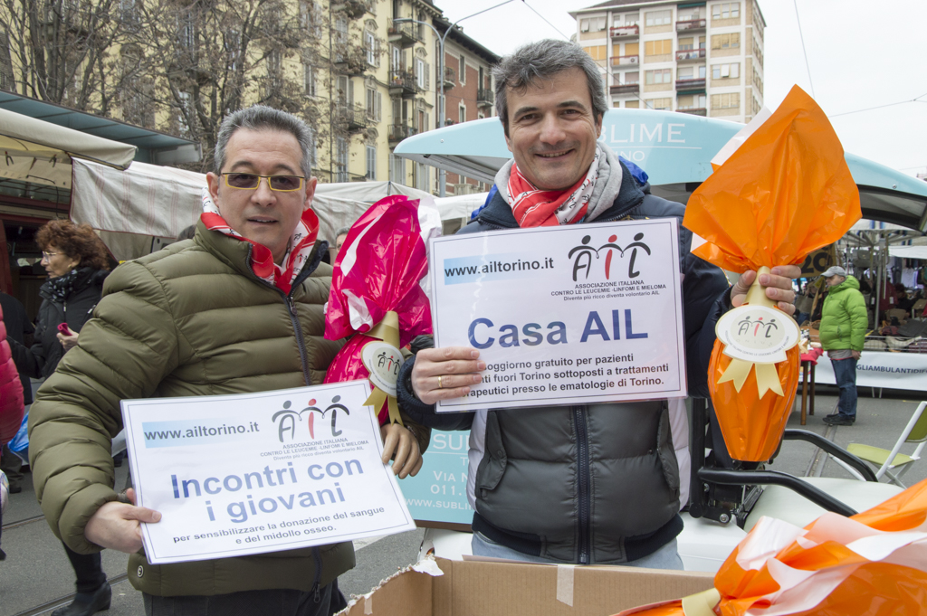 Uova di Pasqua AIL 2016 Torino