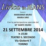 Lirica in jeans