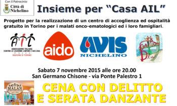 """""""CASA AIL"""" Cena con Delitto"""