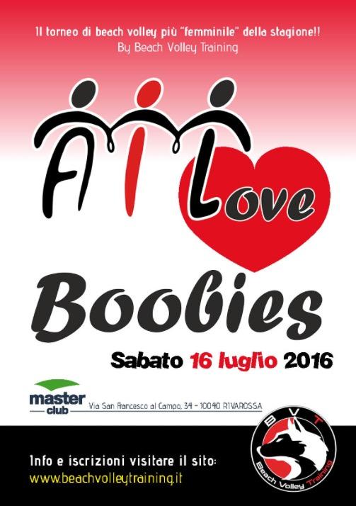 AIL Love Boobies 2016 filmato