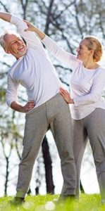 Un Paziente che svolge esercizio fisico